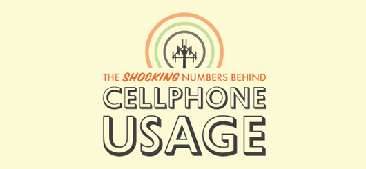 The Shocking Numbers Behind Cellphone Usage